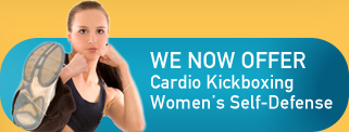 We Now Offer Cardio Kickboxing Women's Self-Defense